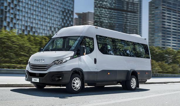 Nowy IVECO Daily: minibus przenoszący przewóz pasażerów na wyższy poziom