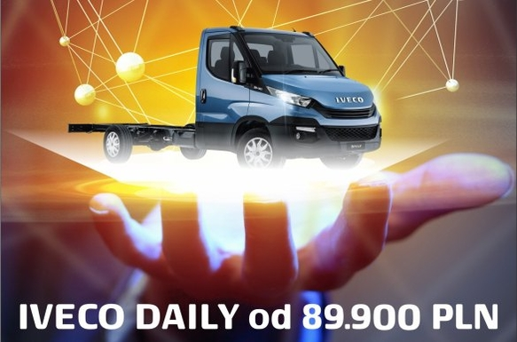 Iveco Daily od 89.900 PLN